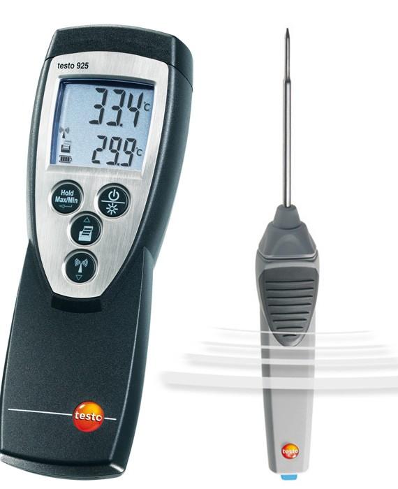 Инфракрасное и контактное измерение температуры