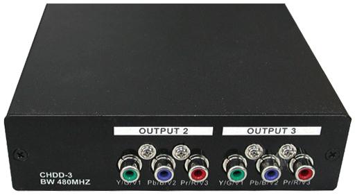 Усилители-распределители - компонентное видео (YUV, RGSB, RGBS, RGBHV) и аудио