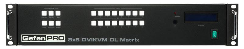 Матричные коммутаторы KVM (DVI, USB и аудио)