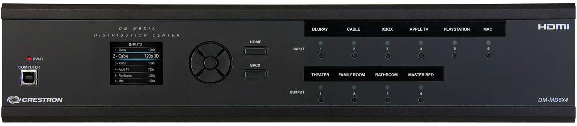 Матричные коммутаторы - Сигналы, передаваемые по витой паре, многоформатное видео, аудио