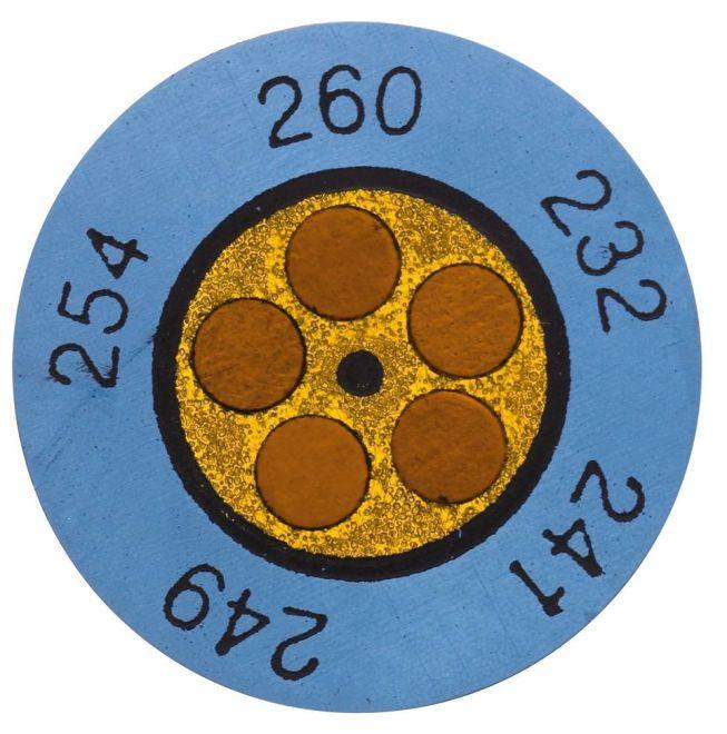 Термометрические полоски и круглые индикаторы температуры