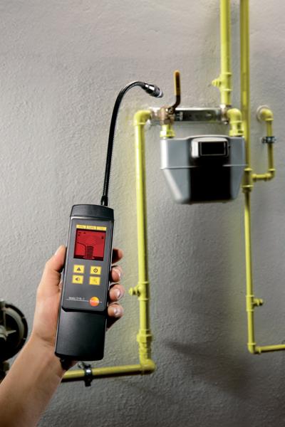 крепление газового сигнализатора в квартире