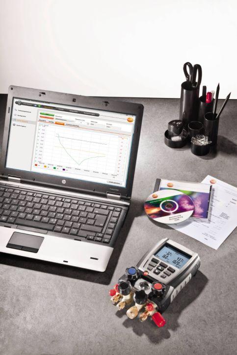Документирование измеренных значений с помощью ПО EasyKool