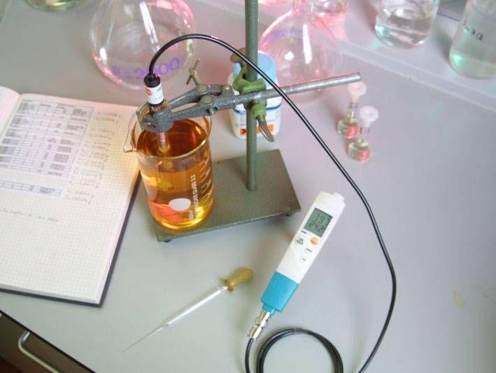 Измерение pH в косметической промышленности с помощью testo 206