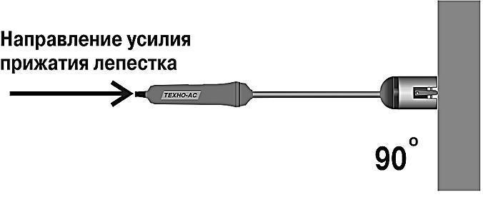 Порядок проведения измерений поверхностным зондом