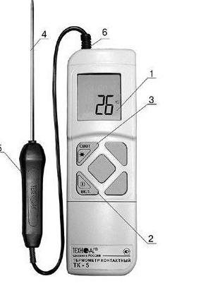 Внешний вид термометра ТК-5.01М