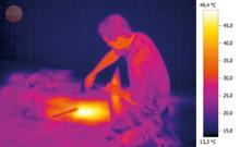 Проверка систем отопления с помощью тепловизора testo 875-1
